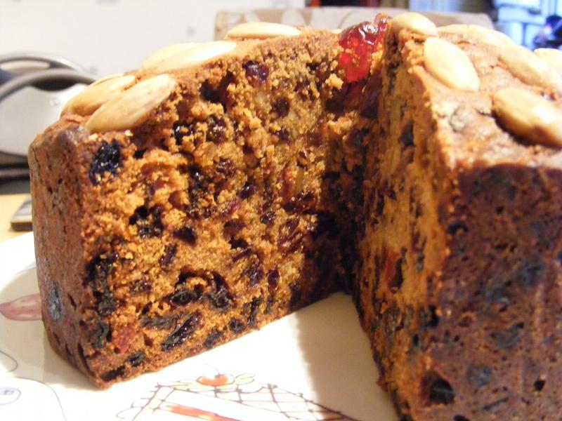 Whisky Fruit Cake Recipe