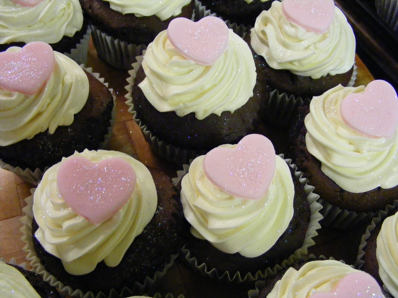 individual cup cakes